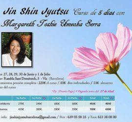 Seminario Básico de 5 Días en Vic, Barcelona. 27, 28 29 de Junio 1 y 2 de Julio de 2018, por Margareth Umeoka