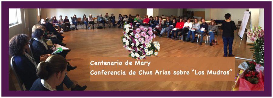 Conferencia a cargo de la Dra. Chus Arias sobre los 8 Mudras de Jiro Murai