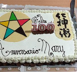 Celebración del Centenario de Mary Burmeister. Felicidades Mary