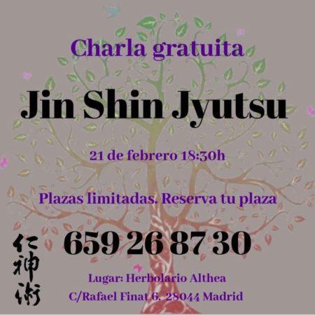 Silvia Villodre charla divulgacion Jin Shin Jyutsu 21-2-2019