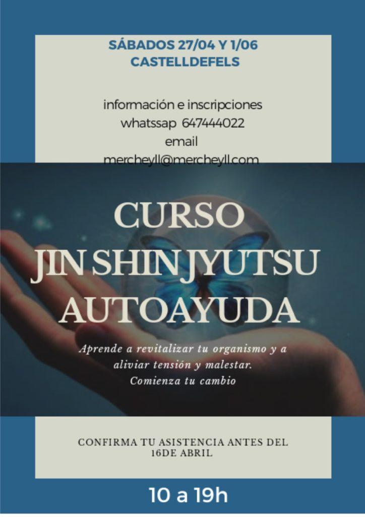 Curso auto ayuda con Jin Shin Jyutsu en Abril y Junio 2019