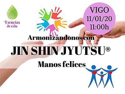 MANOS FELICES, Jin Shin Jyutsu para peques y pecas, Vigo 11-1-2020
