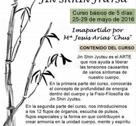 Seminario Básico de 5 Días en Gandía Impartido por la Dra.Chus Arias, Instructora acreditada por Jin Shin Jyutsu Inc. Arizona USA