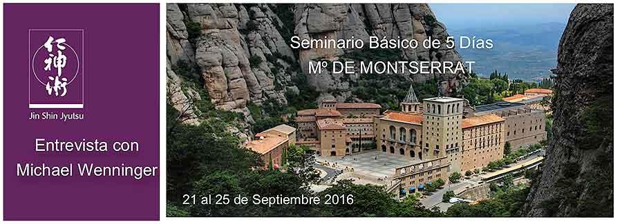 Seminario Básico de 5 Días en el Monasterio de Montserrat, 21 al 25 de Septiembre de 2016