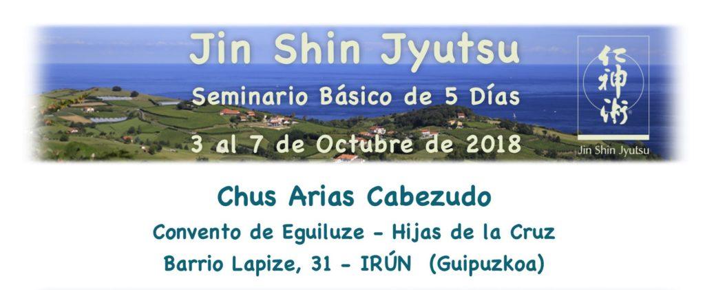 Seminario Básico de 5 Días en Irún 3 al 7 de Octubre de 2018