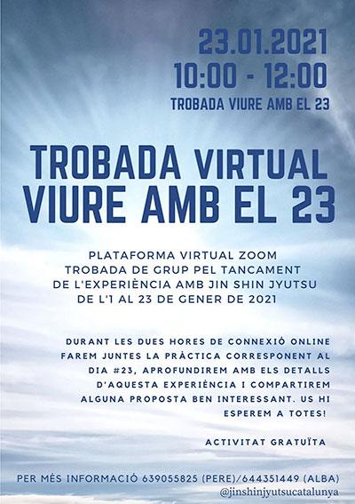 trobada virtual viure amb el 23, 23-01-2021