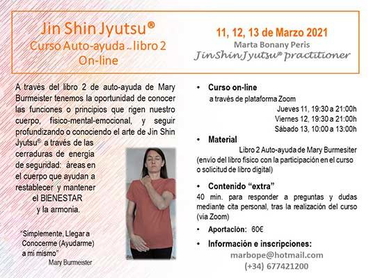Marta Bonany Curso Auto Ayuda Jin Shin Jyutsu Libro 2